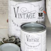 Vintage Paint Metallico Argento200 Ml