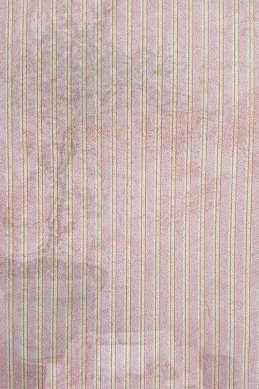 Carta da parati strisce sottili rosa vernici shabby atelier for Carta parati strisce