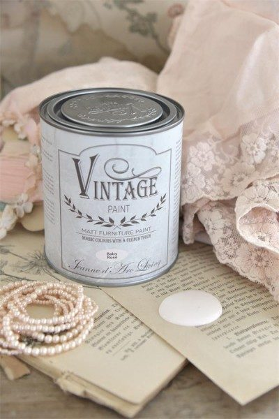 vintage paint baby_rose