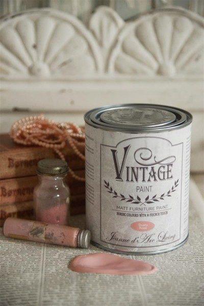vintage paint dusty rose